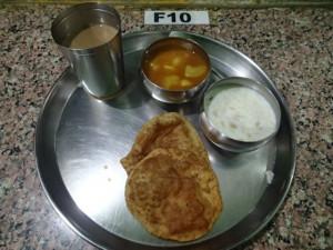 センター朝食